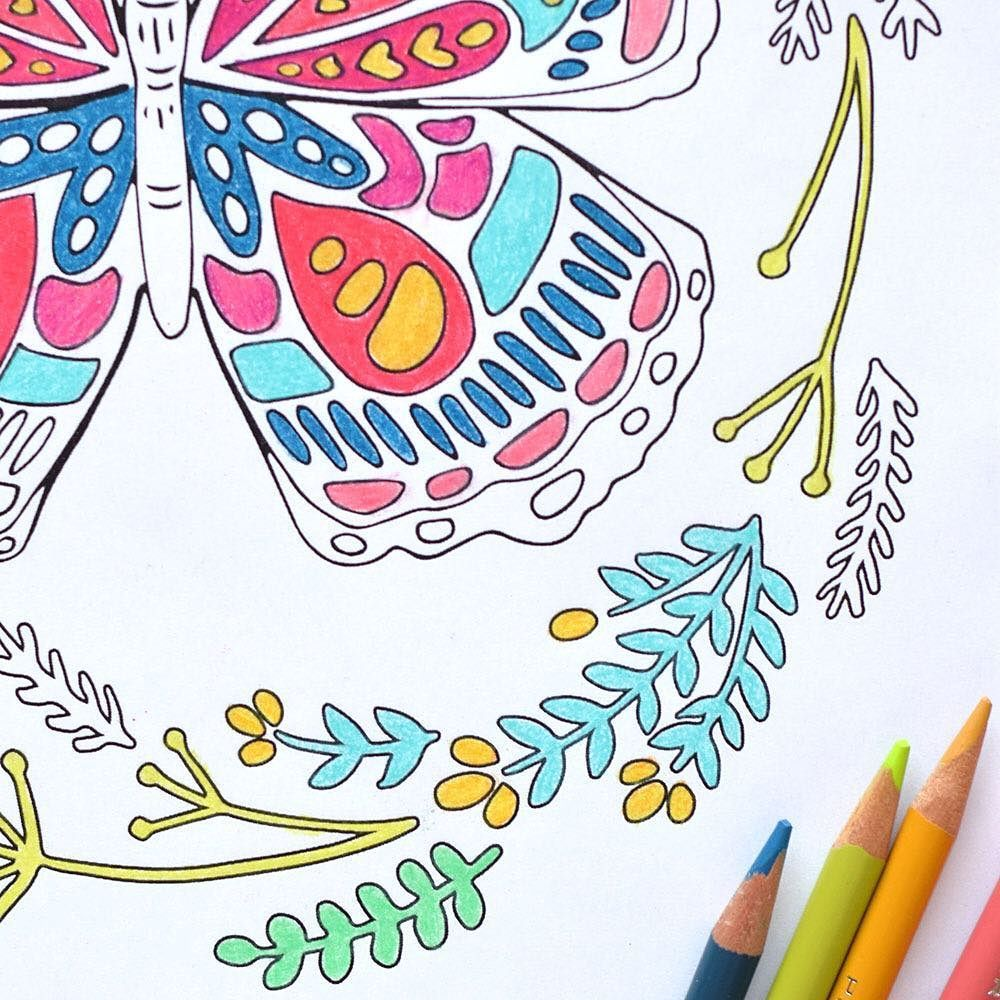 Last chance to get my July coloring page! Click the bio link to get ...