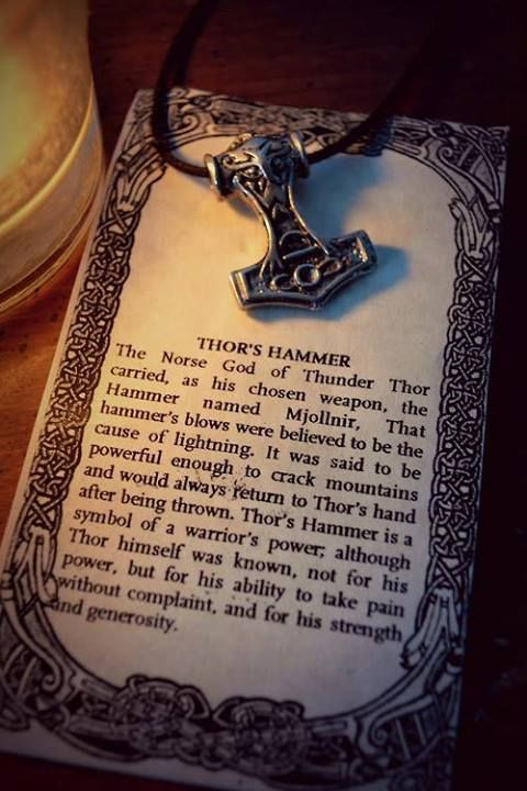 Thor S Hammer Thor Norse Norse Mythology Norse Pagan