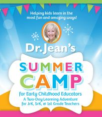 Seminar: Dr. Jean's Summer Camp for Early Childhood Educators...I SO WANT TO GO!!!!