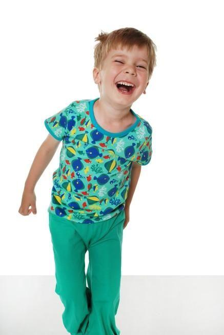 4f4d3966 Fish Short Sleeve Shirt - 2 Left Size 18-24 months by Duns Sweden Organic