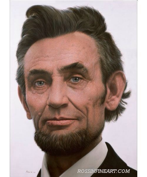 In Color Pictures Of Abraham Lincolnamerican