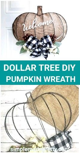 Dollar Tree Thanksgiving  Pumpkin🎃🎃🎃🎃 Decoration, easy, quick, pretty