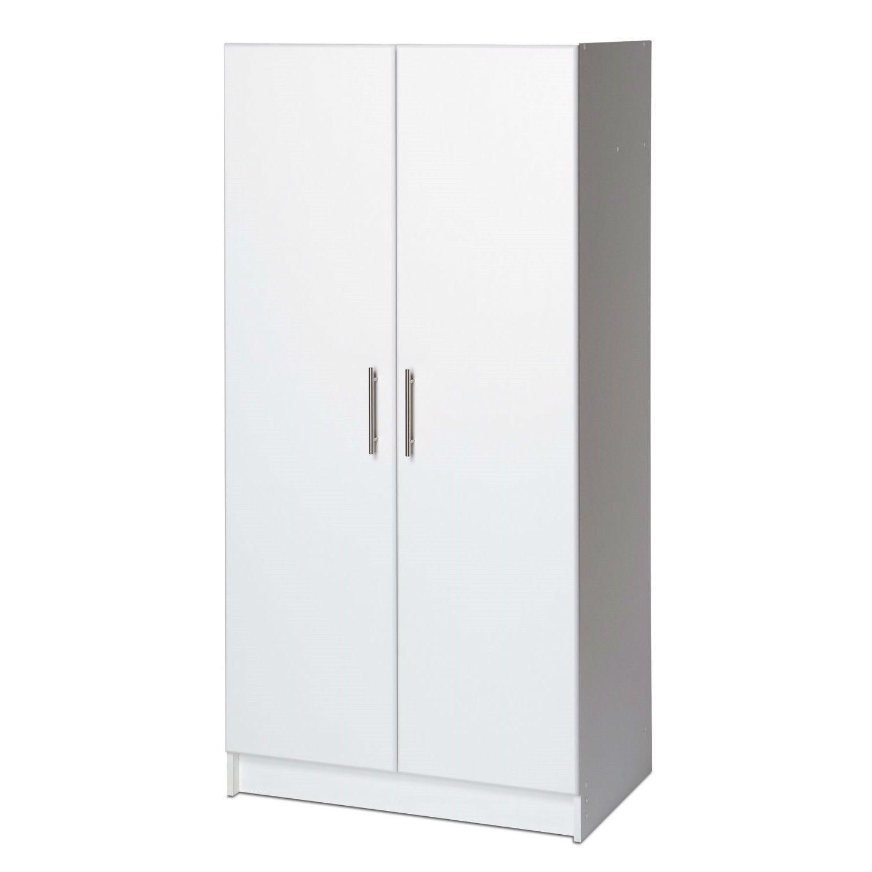 White Storage Cabinet Utility Garage Home Office Kitchen Bedroom