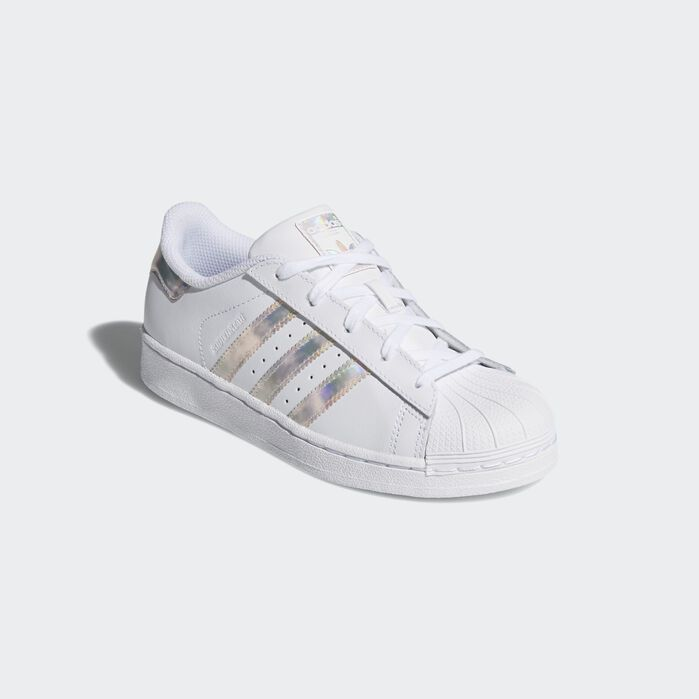 Superstar Shoes White Kids in 2020 Chaussures Superstars  Superstars shoes