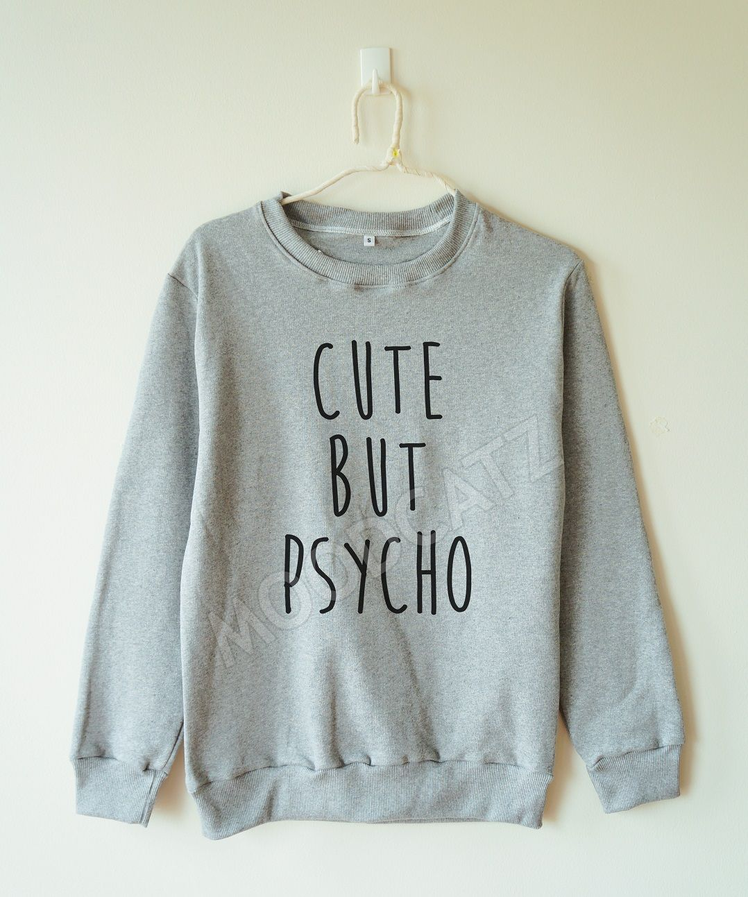 Cute But Psycho Sweater Cute Funny Sweater Women Sweater Men ...