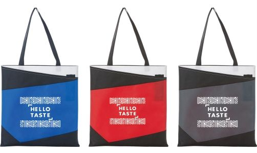 Color Angle Non Woven Convention Tote from NYFifth