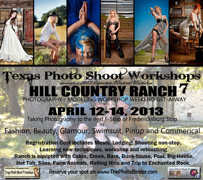 Shoot Photography Workshops: Texas Photo Shoot Workshops Hill Country Ranch Weekend