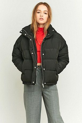 91cd7bd9b8b4 Light Before Dark Cropped Puffer Jacket | Style in 2019 | Jackets ...