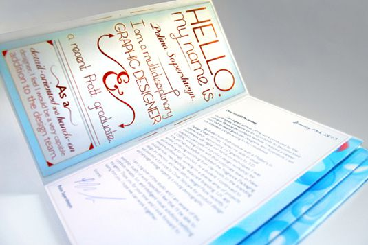 Pro Tips For Creating A SelfPromotional Brochure  Brochures