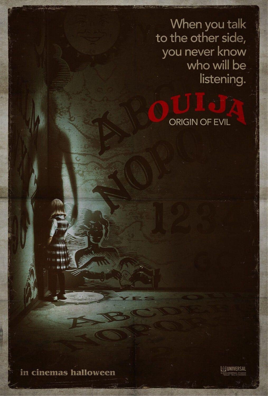 O Suspense Ouija Origem Do Mal Teve Divulgado Novo Trailer E Cartazes Cinema Bh Ouija Cartazes De Cinema Cartazes De Filmes De Terror