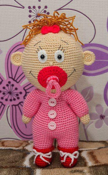 Toys By Alla Chernous I Prochie Poleznosti Crochet Dolls Knitted Dolls Crochet Doll Pattern