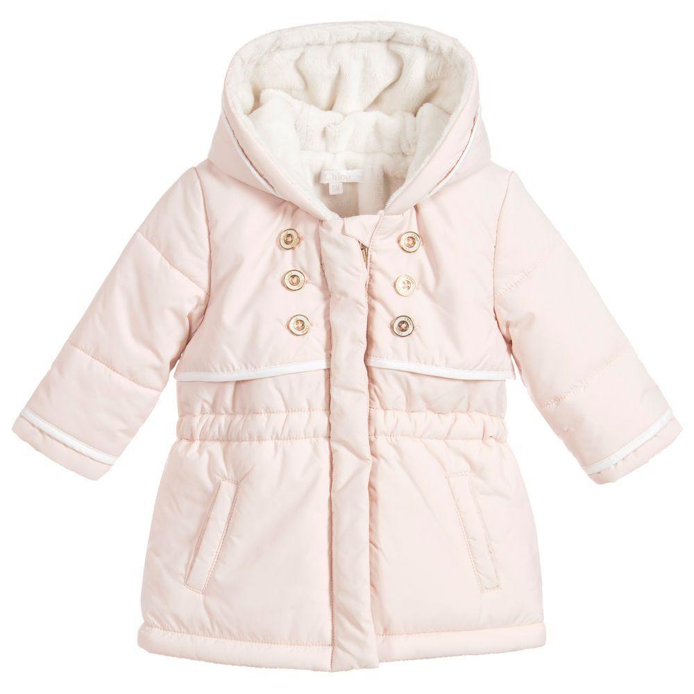 f9aa37100c81 Girls Pink Padded Coat