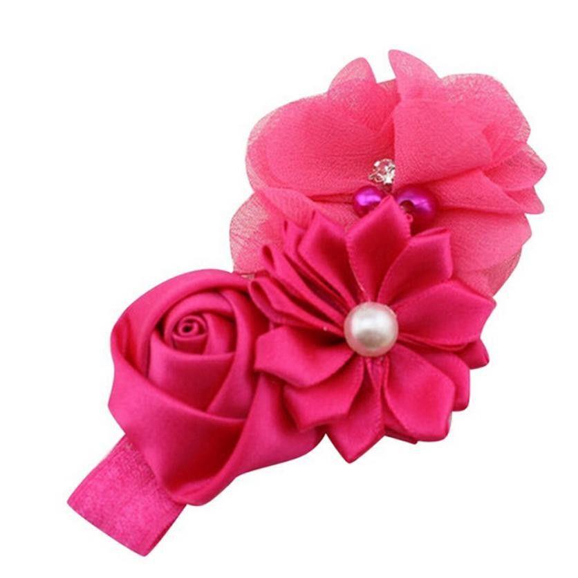 Lace Flower Headband