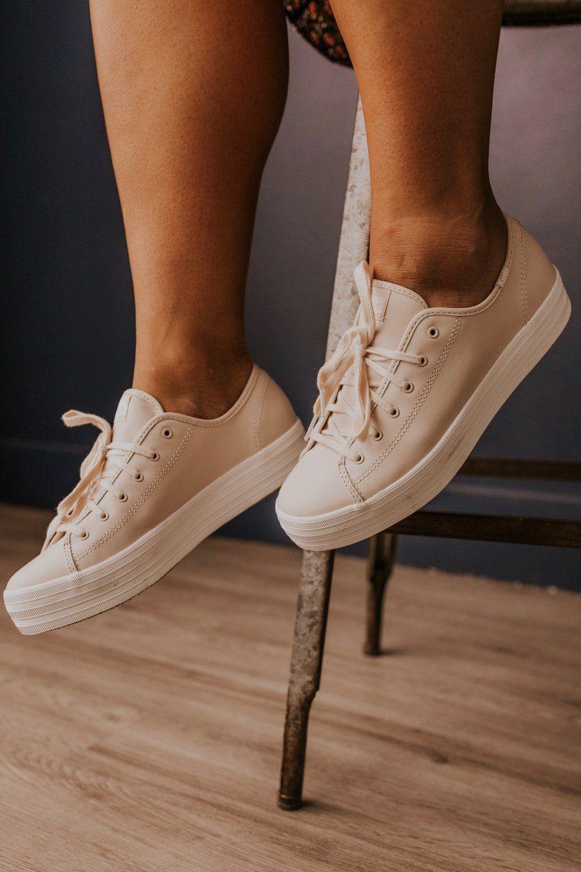 Keds Triple Kick Leather Sneakers in
