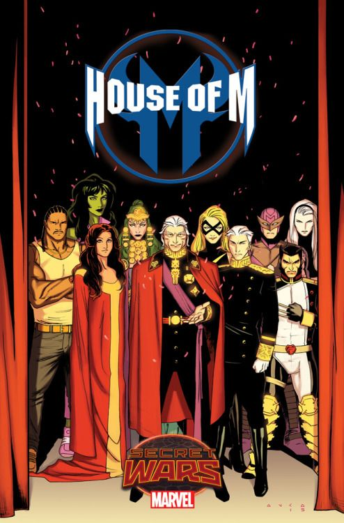 """kristaferanka:Finally announced! ill be drawing House of M this summer! *""""Namor fans can also thank Mr. Anka for the Sub-Mariner's role in the book. Kris's first list of potential characters consisted of the word NAMOR in 20-point font."""" - Dennis Hopeless"""