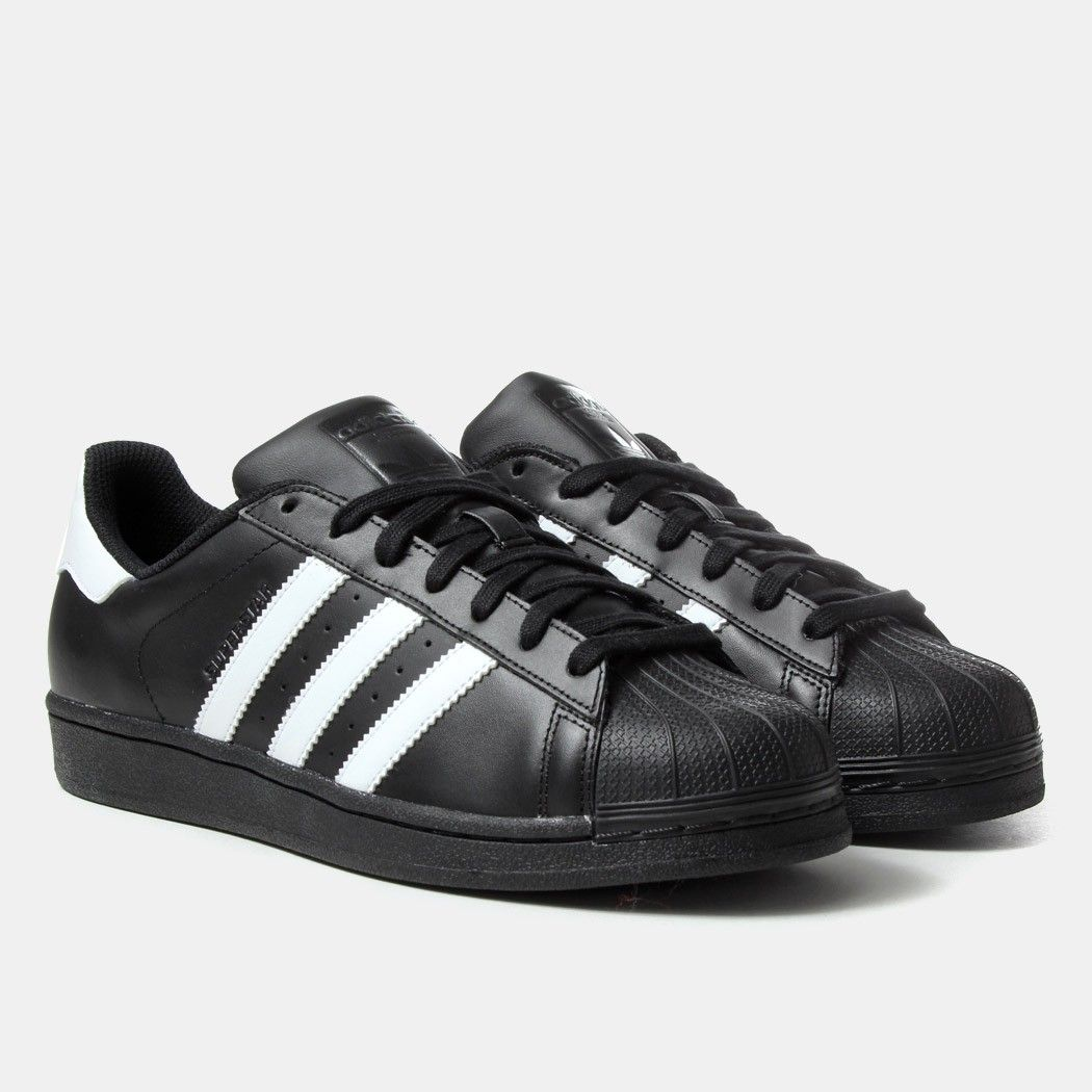 Cheap Adidas Skateboarding Superstar Vulc ADV (Core Black