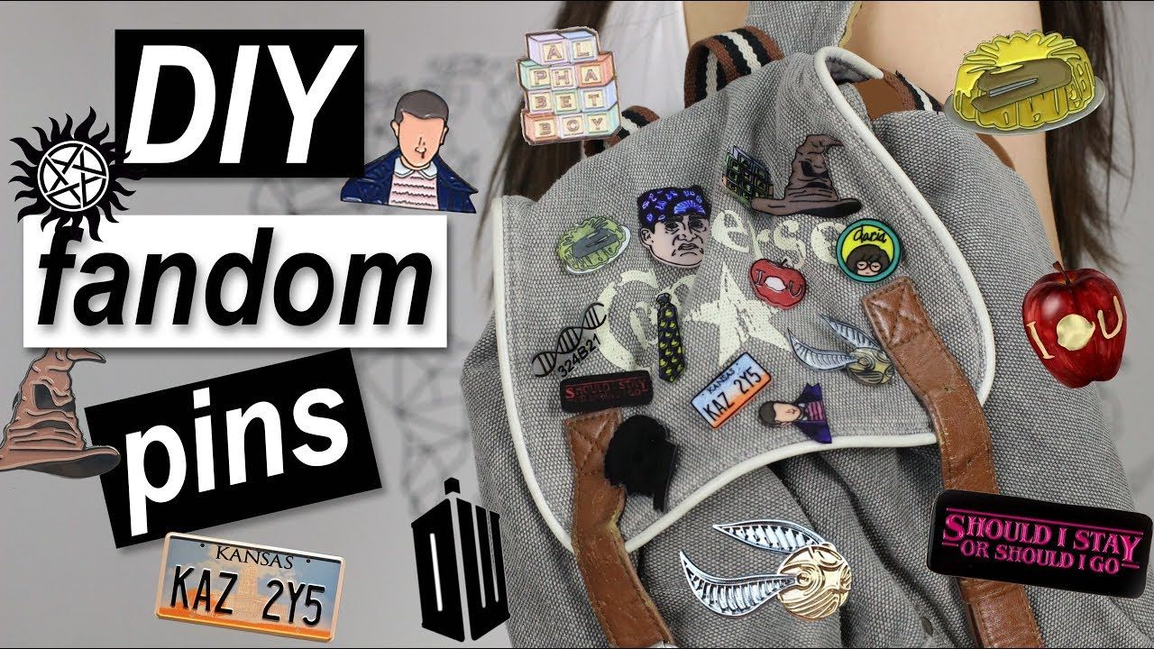 Diy Fandom Pins 3 Ways Geek