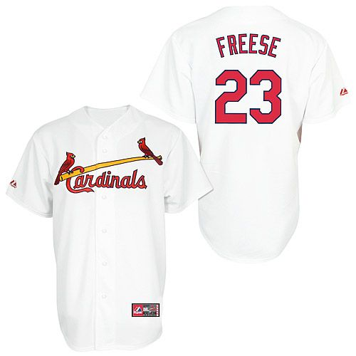 David Freese Saint Louis Cardinals Youth Majestic Player Replica Jersey