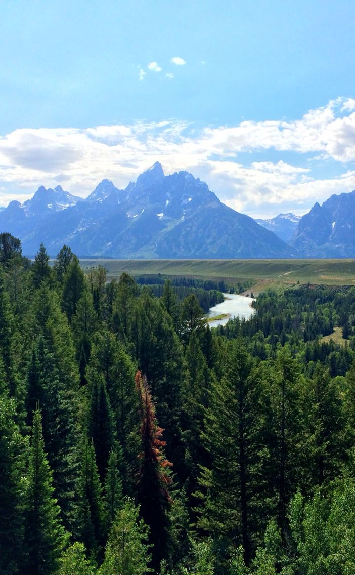 Grand Teton National Park in Jackson, Wyoming. - instagram.com/e.greeno
