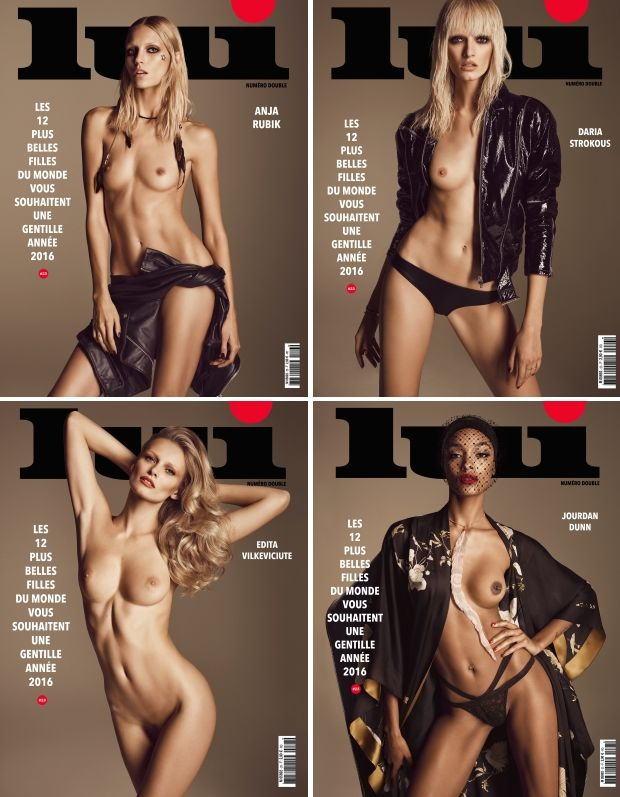 nude supermodels