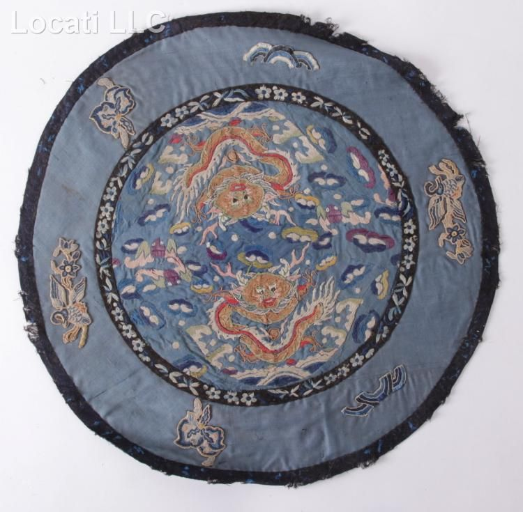 A Large Group of Chinese Silk Textiles
