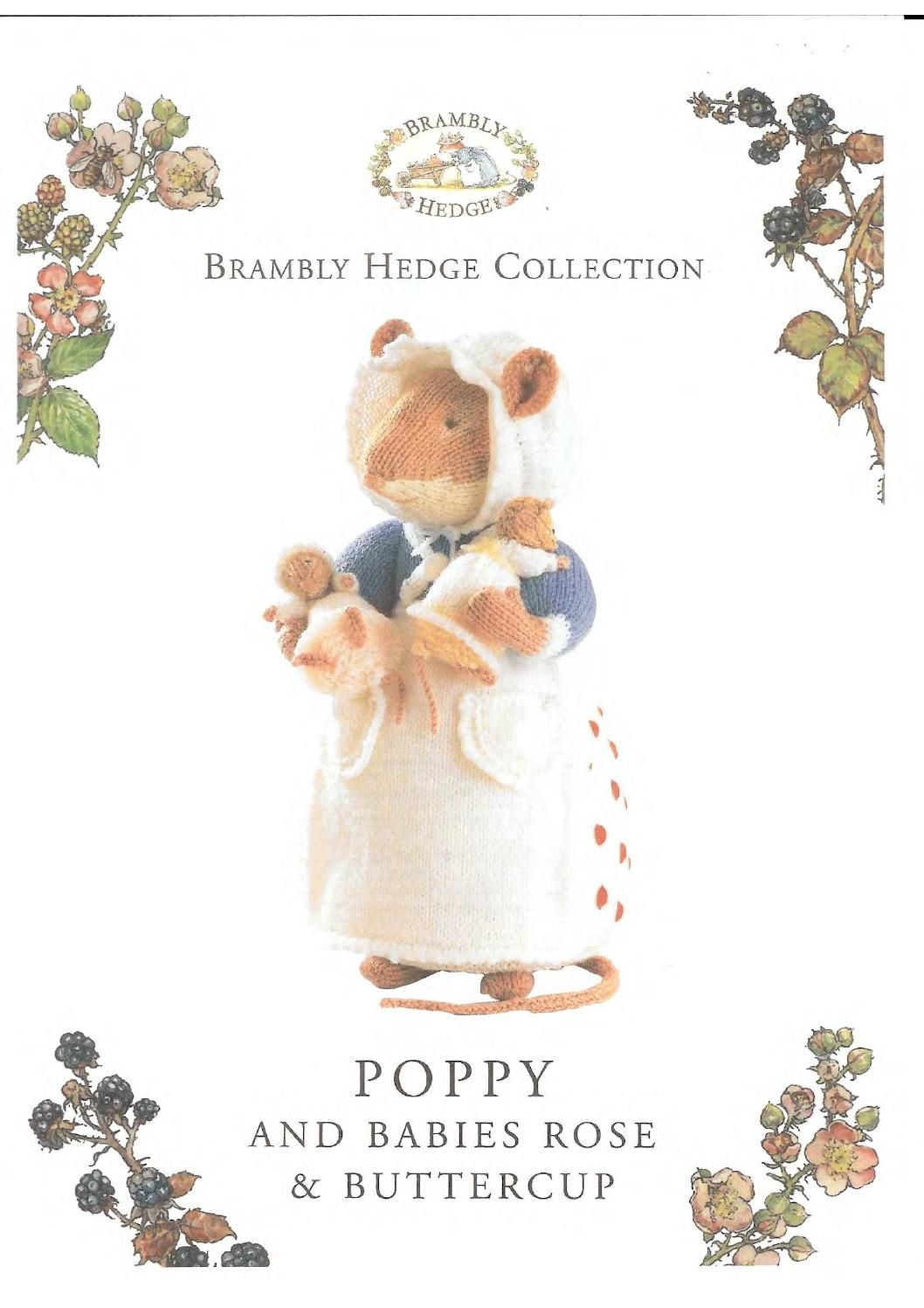 Knit brambly hedge collection poppy and babies | Hæklede og ...
