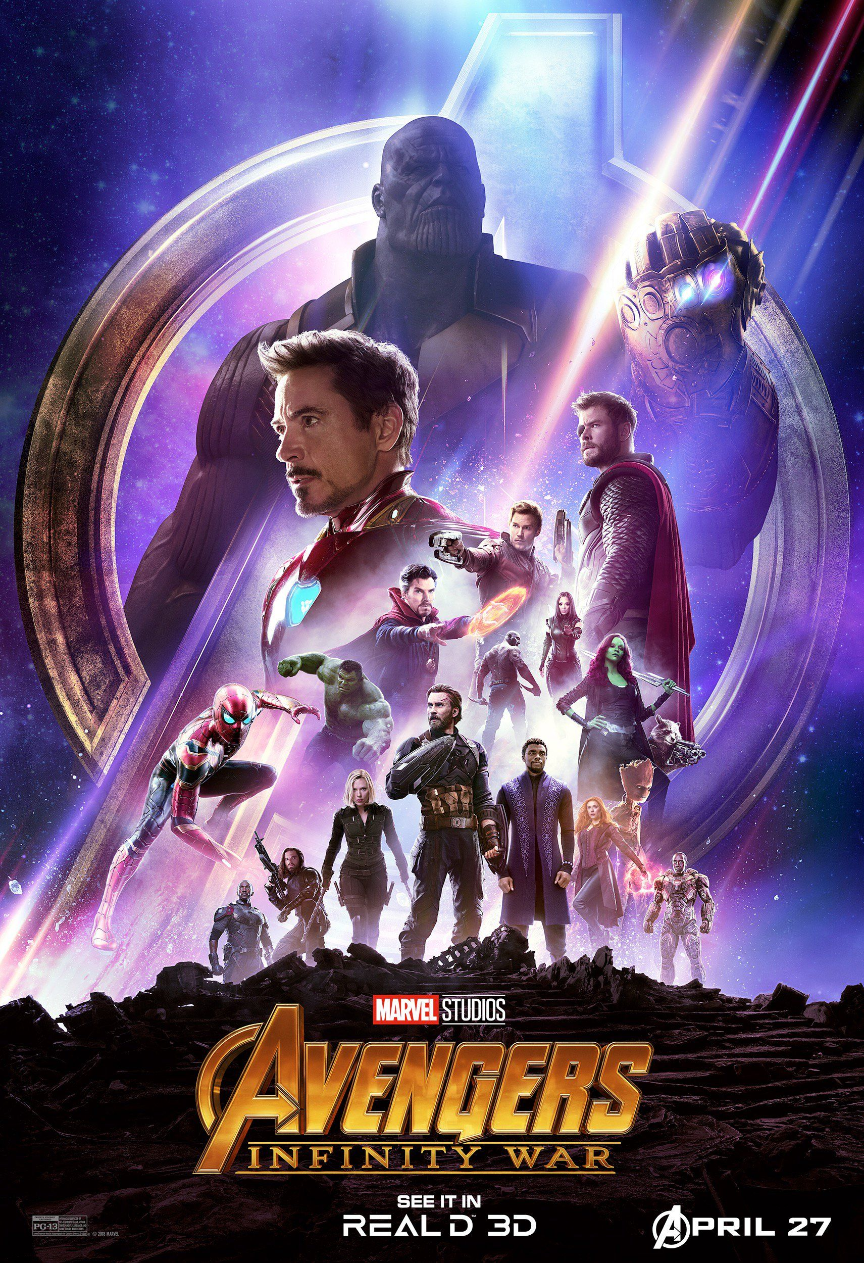 2 New Posters Revealed For AVENGERS: INFINITY WAR and New