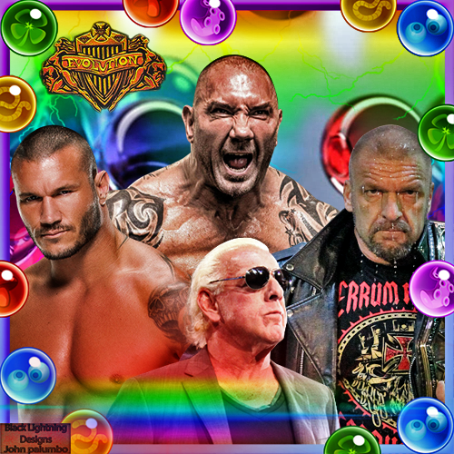 todays theme hope all enjoy black lightning evolution randy orton
