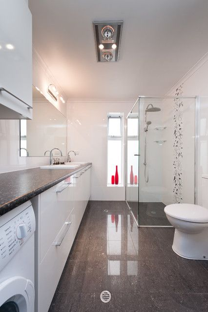 14 Multifunctional Bathroom Designs With Laundry Space Laundry