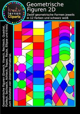 Geometrische Formen für den Mathematik und Kunstunterricht zum ...
