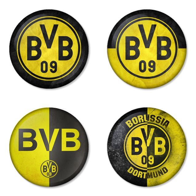"BORUSSIA DORTMUND Football Club 1.75"" Badges Pinbacks, Mirror, Magnet, Bottle Opener Keychain http://www.amazon.com/gp/product/B00K3U2AP0"