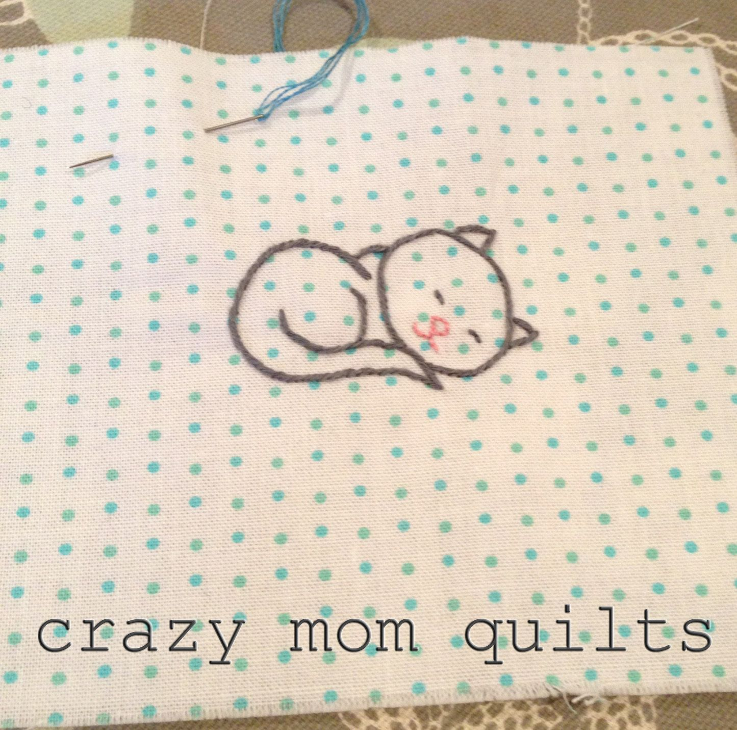 crazy mom quilts on the s is for stitch blog tour cats sticken pinterest. Black Bedroom Furniture Sets. Home Design Ideas