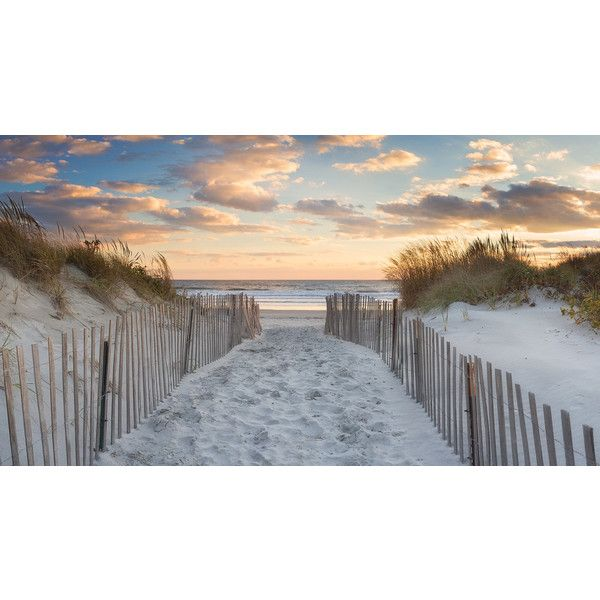Beach Wall Art Large Canvas Art Dunes Photography Beach Path Photo