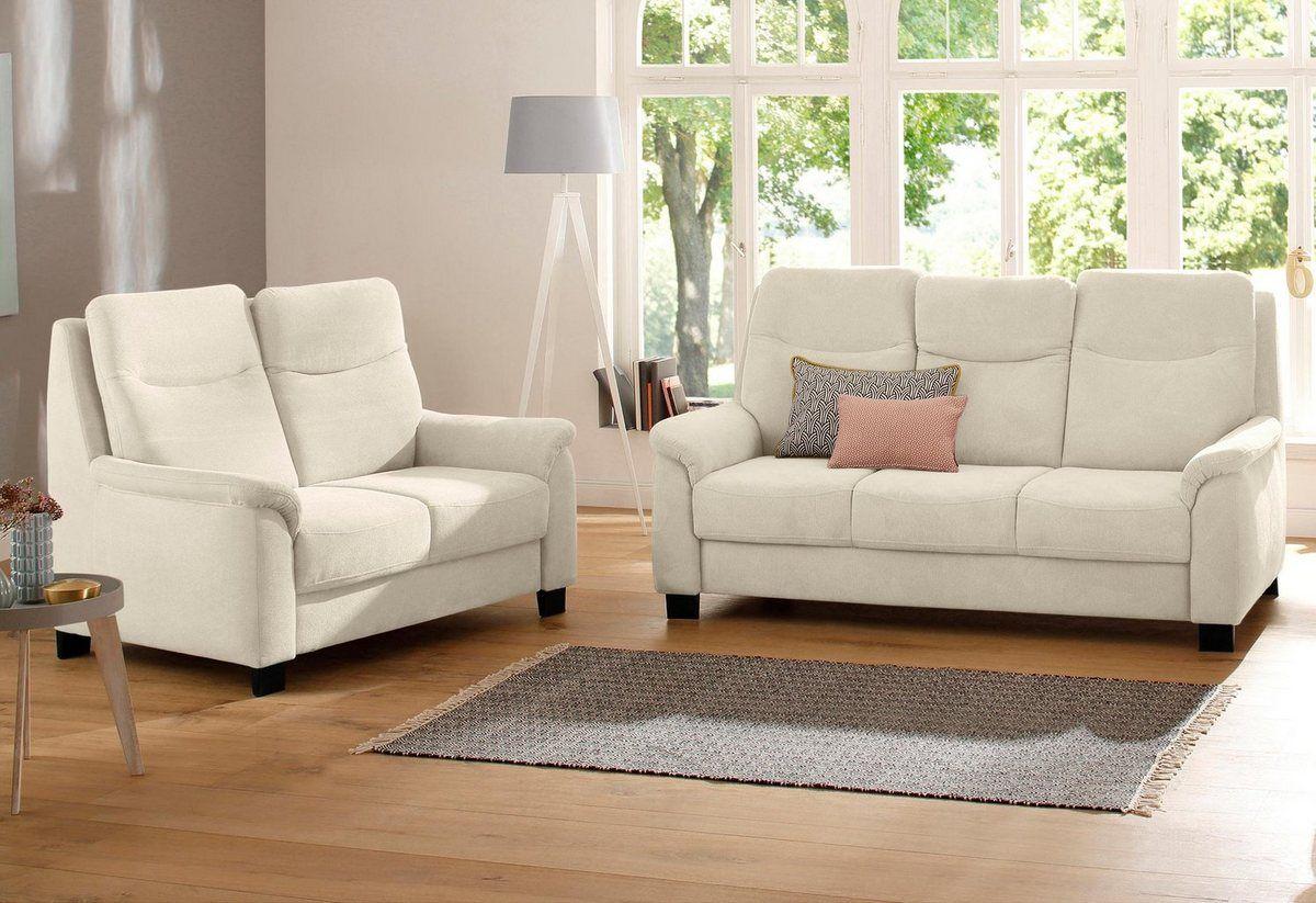 2 Sitzer 3 Sitzer Set Bocca Mit Federkern Incl Kopfteilverstellung Home Sofa Home Decor