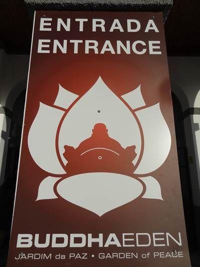 Buddha Eden - Entrada