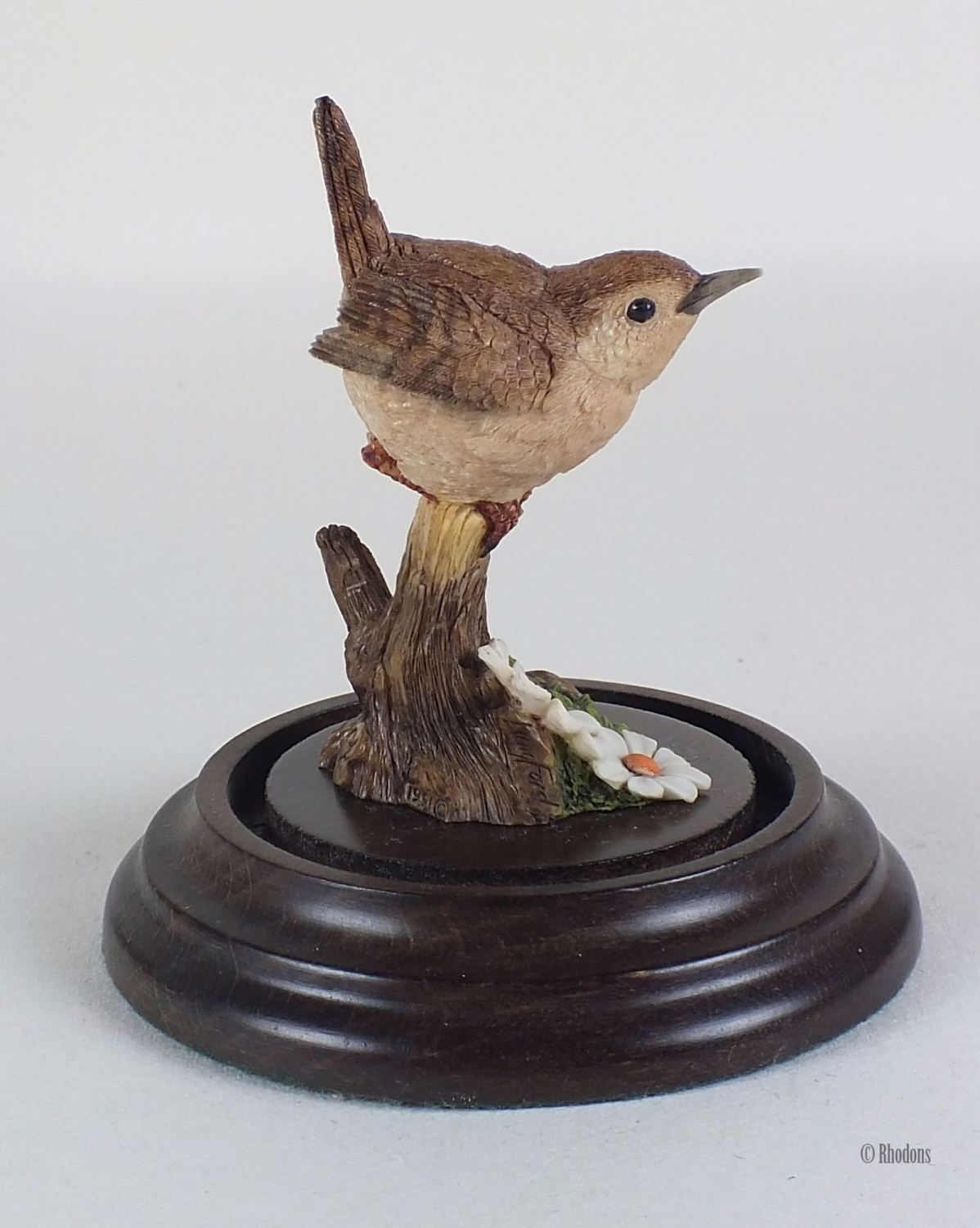 Vintage 1991 Wren Figurine By Country Artists / Stephen