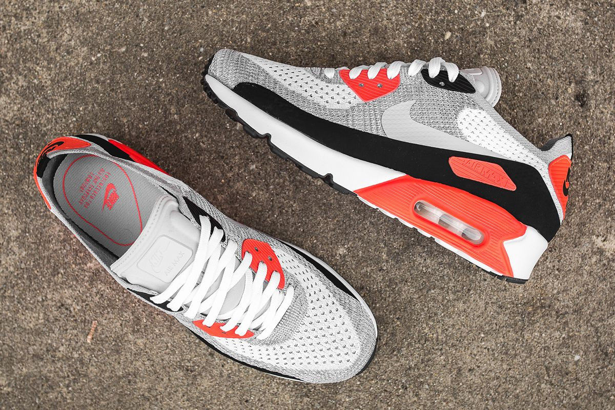 best service 9b6a9 b60d5 Nike Air Max 90 Ultra 2.0 Flyknit  Infrared  10 Detailed Pictures - EU  Kicks  Sneaker Magazine