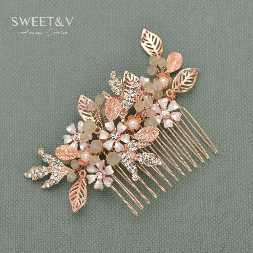 cheap bridal hair comb, buy quality wedding comb directly from china