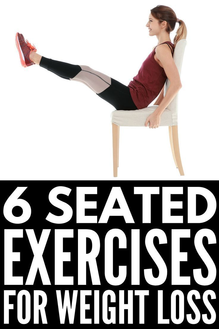 Chair Exercises: 6 Workouts You Can Do Sitting Down