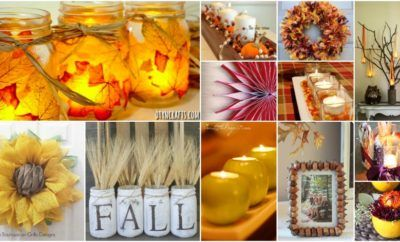 60 Fabulous Fall DIY Projects To Decorate And Beautify Your Home | My Frequent