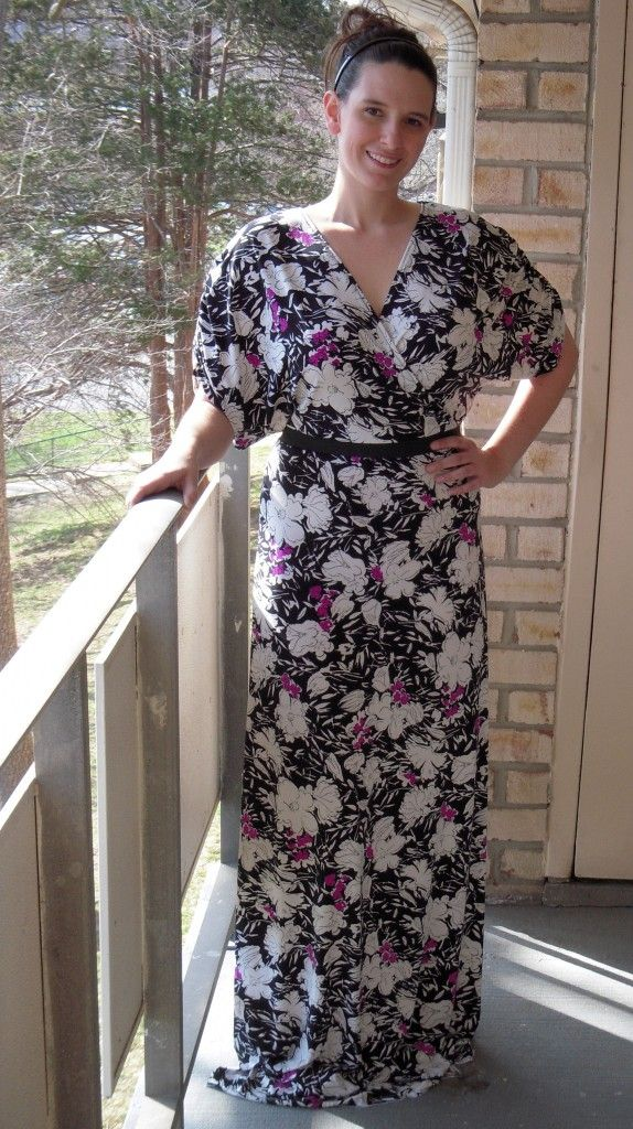 Kimono Dress with Skirt attached to top. Also saved in Sewing under My Documents.