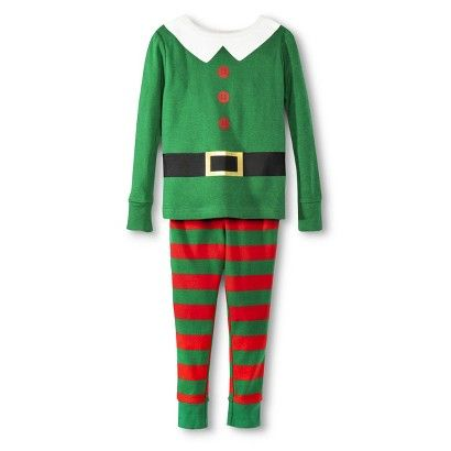 513044355 Infant Toddler Elf Pajama Set from Target