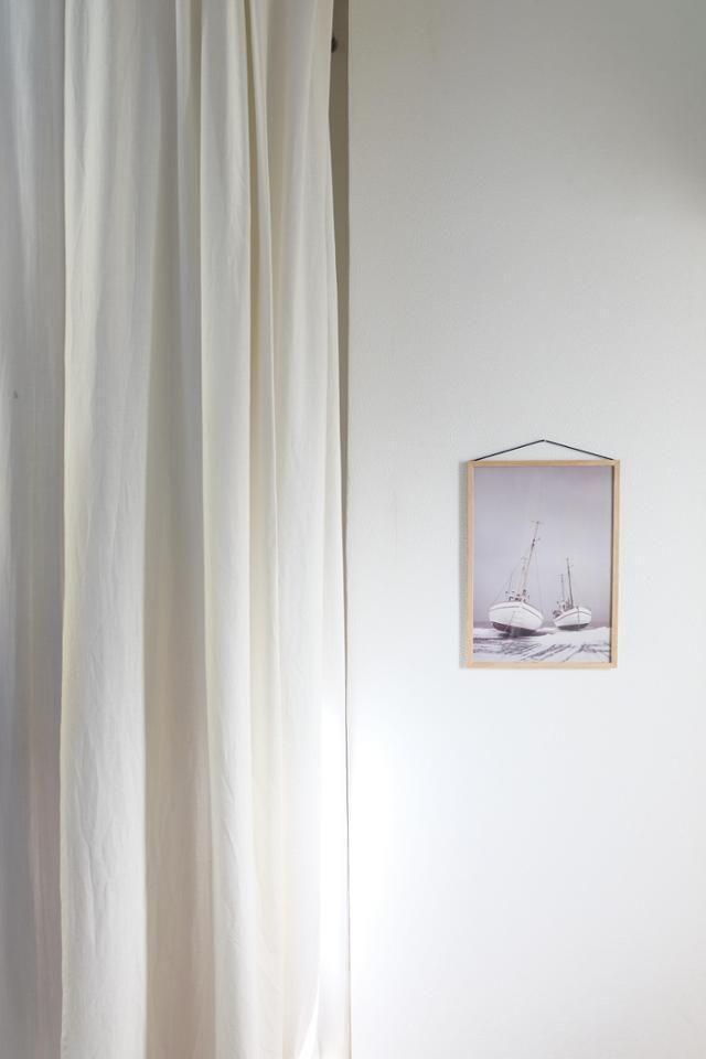Wir dekorieren minimalistisch hier mit dem frame vo wohnen im natur look pinterest - Minimalistisch dekorieren ...