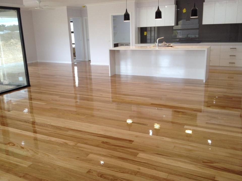 New Timber Floor Finished With Polyurethane High Gloss Spinks Timber Floors Www Spinkstimberfloors Com Timber Flooring Flooring Timber