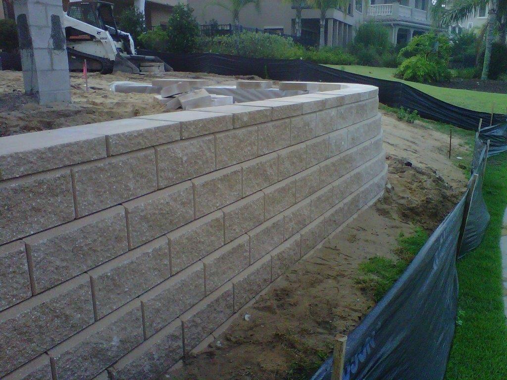 Allan Block Classic Collection Retaining Wall Patio Patio