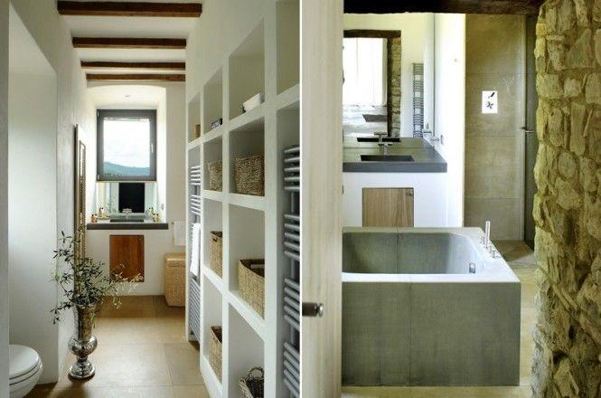 ☘ Castello di Reschio, in Umbria, Italy Spa bathroom divider - regale für badezimmer