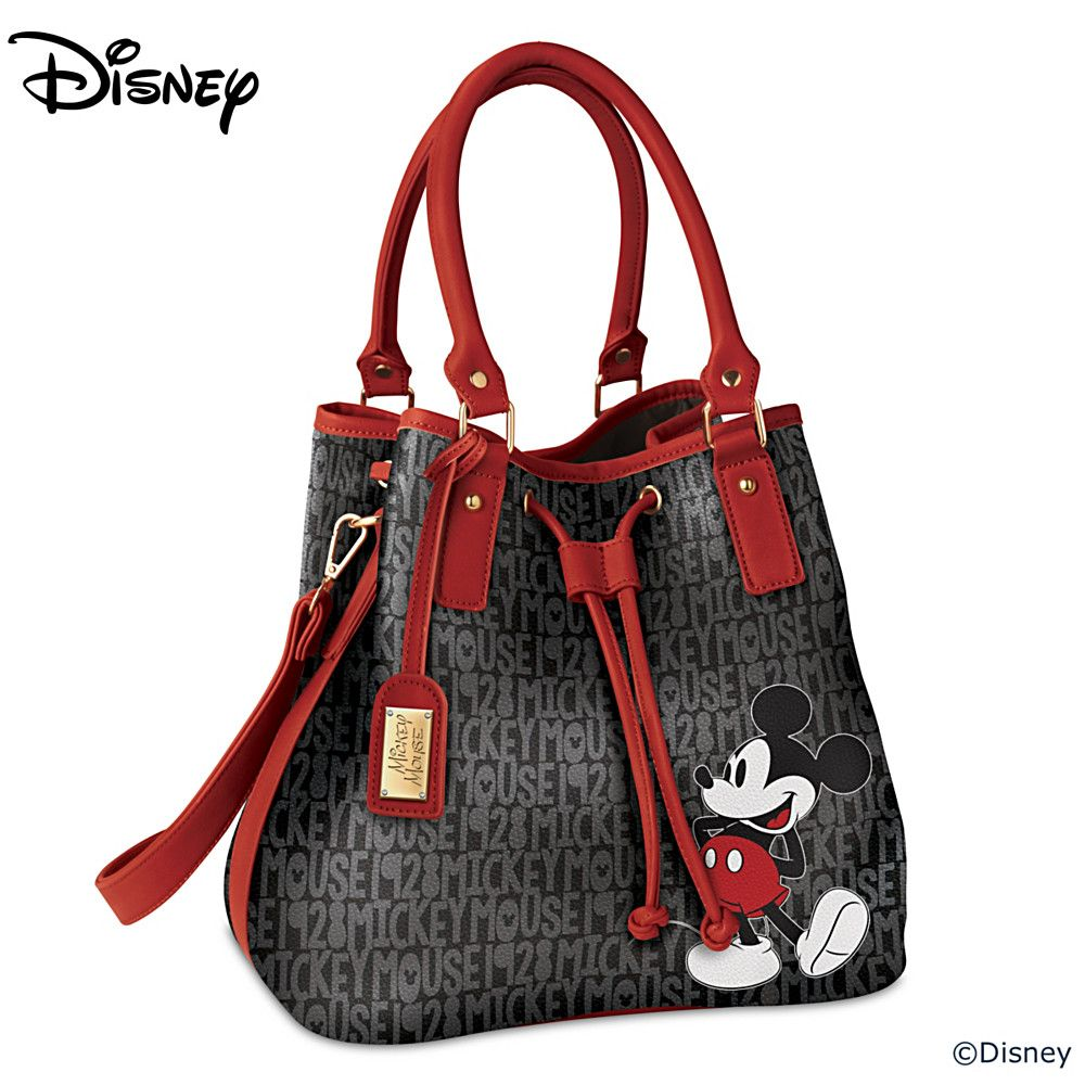 127265001 Disney Forever Mickey Mouse Women S Fashion Handbag Womens Fashion Handbags Disney Handbags Disney Purse