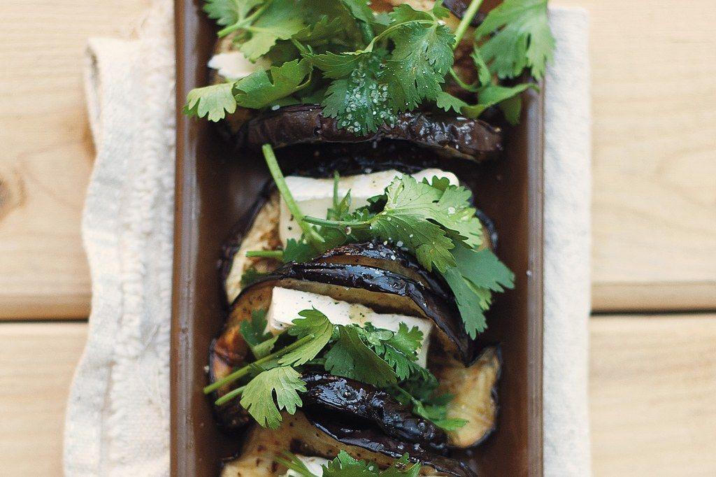 """Eggplant """"Tacos"""""""