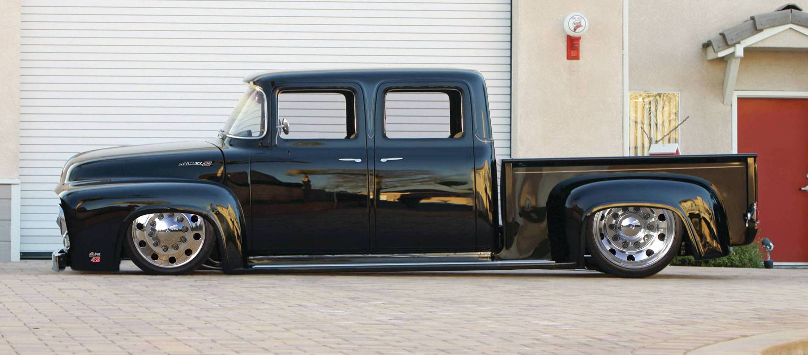 1956 Ford F250 Quad Cab Dually | Cool stuff I like ...