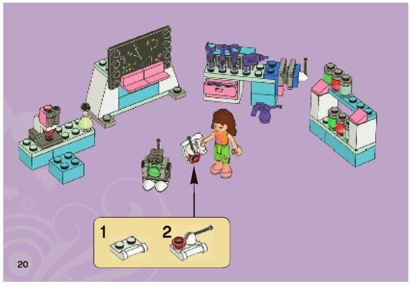 Lego Olivia S Invention Workshop Instructions 3933 Friends Lego Friends Lego Activities Lego Friends Sets